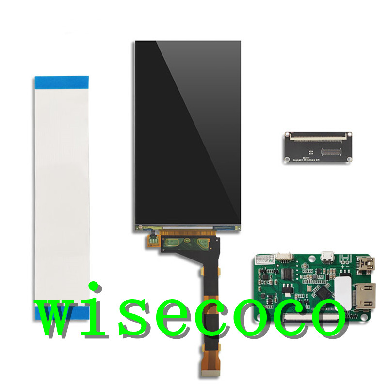 5.5 Inch 2K 1440*2560 IPS LCD LS055R1SX04 Kit MIPI HDMI USB Display monitor Controller Driver Board DIY Projector(China)