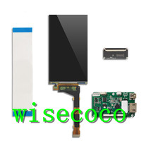 Kit lcd 5.5 Polegada 2k 1440*2560 ips  hdmi  monitor de tela  placa driver  diy projetor
