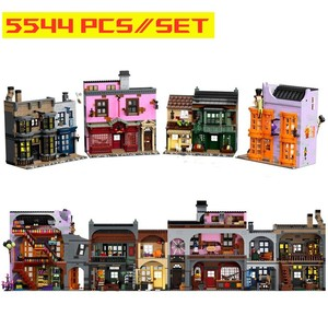 New Diagoned Alley Fit 75978 Building Blocks Kits Bricks Classic Movie Series Potter Model Kids DIY Toys For Children Gift
