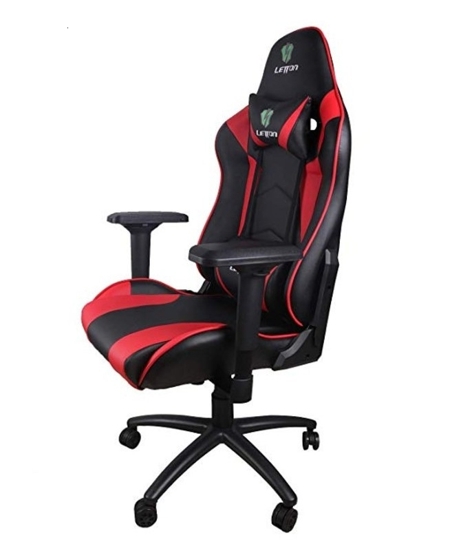 Computer Desk Chair Racing Style High Back PU Leather Chair Executive And Ergonomic PU Leather Seat