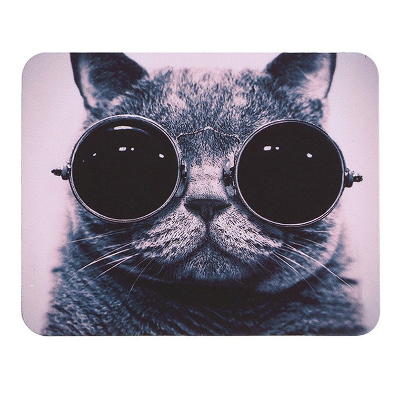 New Mouse Pad Hot Cat Picture Anti-Slip Laptop PC Mice Pad Mat Mousepad For Optical Laser Mouse Promotion Support Dropship