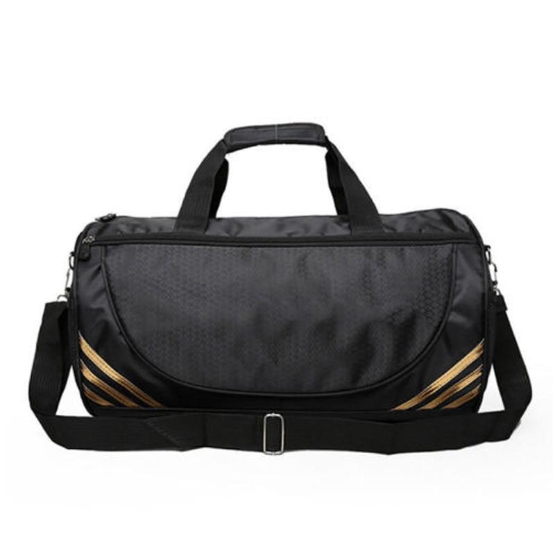 Travel Bag Tote Gym Luggage Handbag Yoga Bag Unisex Sturdy Nylon Duffle Suitcase Solid