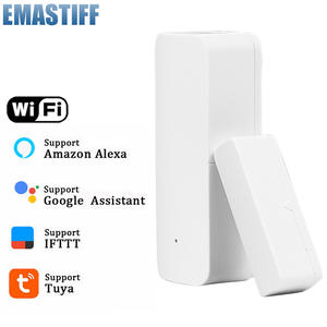 Tuya Smart WiFi Door Sensor Door Open  Closed Detectors WiFi App Notification Alert security alarm support Alexa Google Home