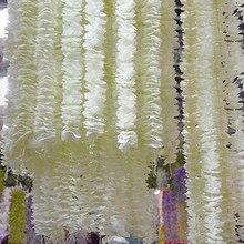 50Pcs 1M/2M Orchidee Rotan Kunstmatige Silk Flower Vine Voor Huis Wedding Garden Decoratie Opknoping Garland muur Nep Bloemen