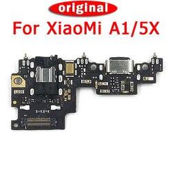 Asli Pengisian Port Papan PCB untuk Xiao Mi Mi A1 Charger Papan Bodoh Konektor untuk Mi 5X USB Flex kabel Suku Cadang