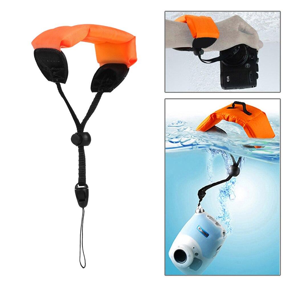 For GoPro Accessory Diving Swimming Floating Bobber Hand Wrist Strap for Go Pro Hero 4 5 6 7 Sjcam Sj4000 D20 D30 Action Cam