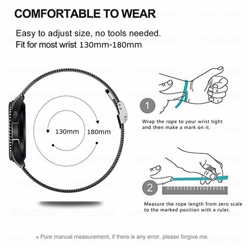 Ktab-Mesh-Loop-Bracelet-Strap-for-Huawei-Watch-GT-2-Band-Samsung-Galaxy-Watch-46mm-Galaxy