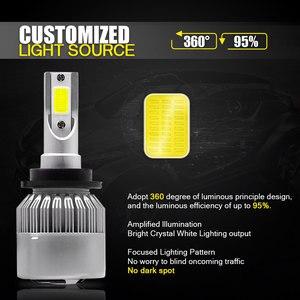 Image 2 - Ampoules pour voitures, phares de voiture, étanches IP68 CSP LED k 6000 DC 12V 24V LED degrés 9200LM, 2 pièces, 55W D2S D2C D2R D4S D4C D4R