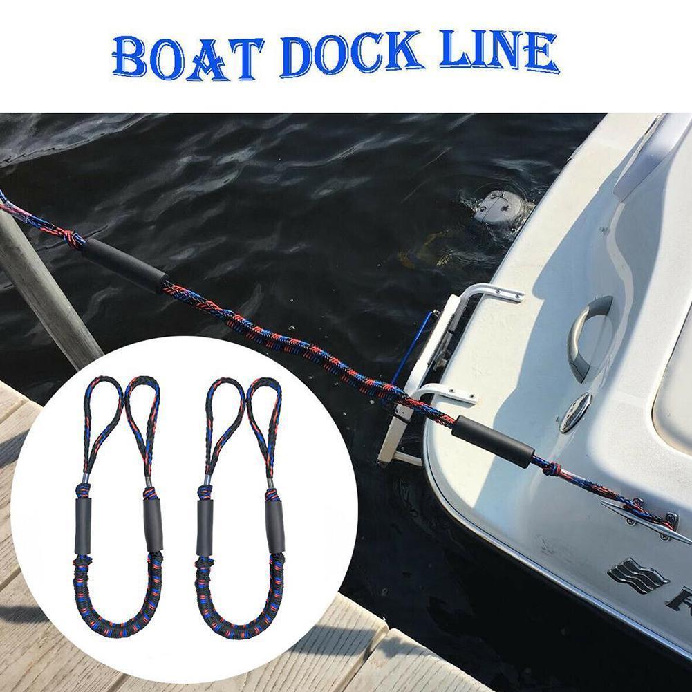 1.2m Elastic Stretch Rope Boat Mooring Rope A8K9
