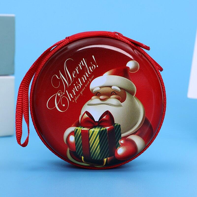 Лидер продаж, кошелек для монет с героями мультфильмов, Эльза, Анна, принцесса, чехол для ключей для девочек, кошелек, детский Снежная королева, гарнитура, сумка для монет - Цвет: Christmas9