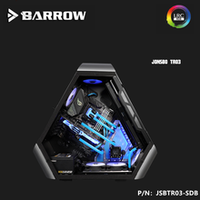 Barrow Distro Plate For  JONSBO TR03 Case LRC2.0\u00285V 3Pin AURA\u0029 JSBTR03-SDB