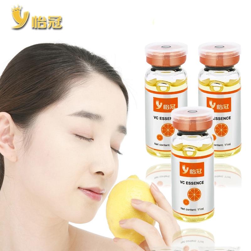 11ml Vitamin C Essence Whitening Moisturizing Serum Shrinks Pores Reducing Acne and Freckles Reducing Melanin Precipitation