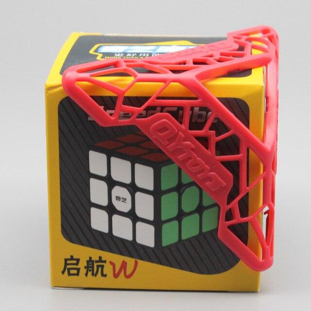 Qiyi QiHang Sail W 3x3 Puzzle Speed Magic Cube Toys For Kids Intelligence Education 3x3x3 Cubo Magico Toys Black White Sticker 5
