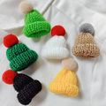 Women Brooch & Pin Cute Mini Hat Badge Christmas New Year Gift Sweater Jackets DIY hats kids winter Accessories Backpack Decorat