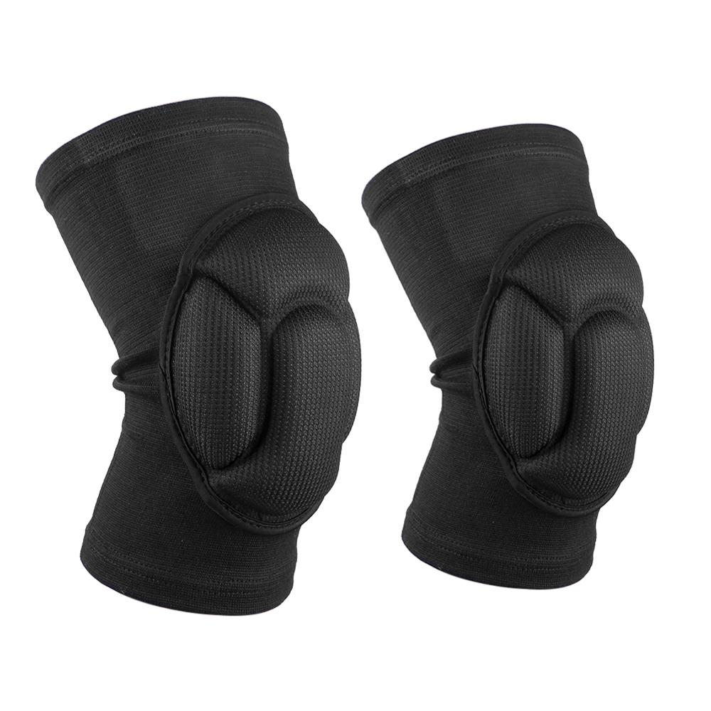 1 Pair Sponge Football Volleyball Extreme Sports Knee Pad Brace Support Thickening Patella Guard Lap Protect Knee Protector