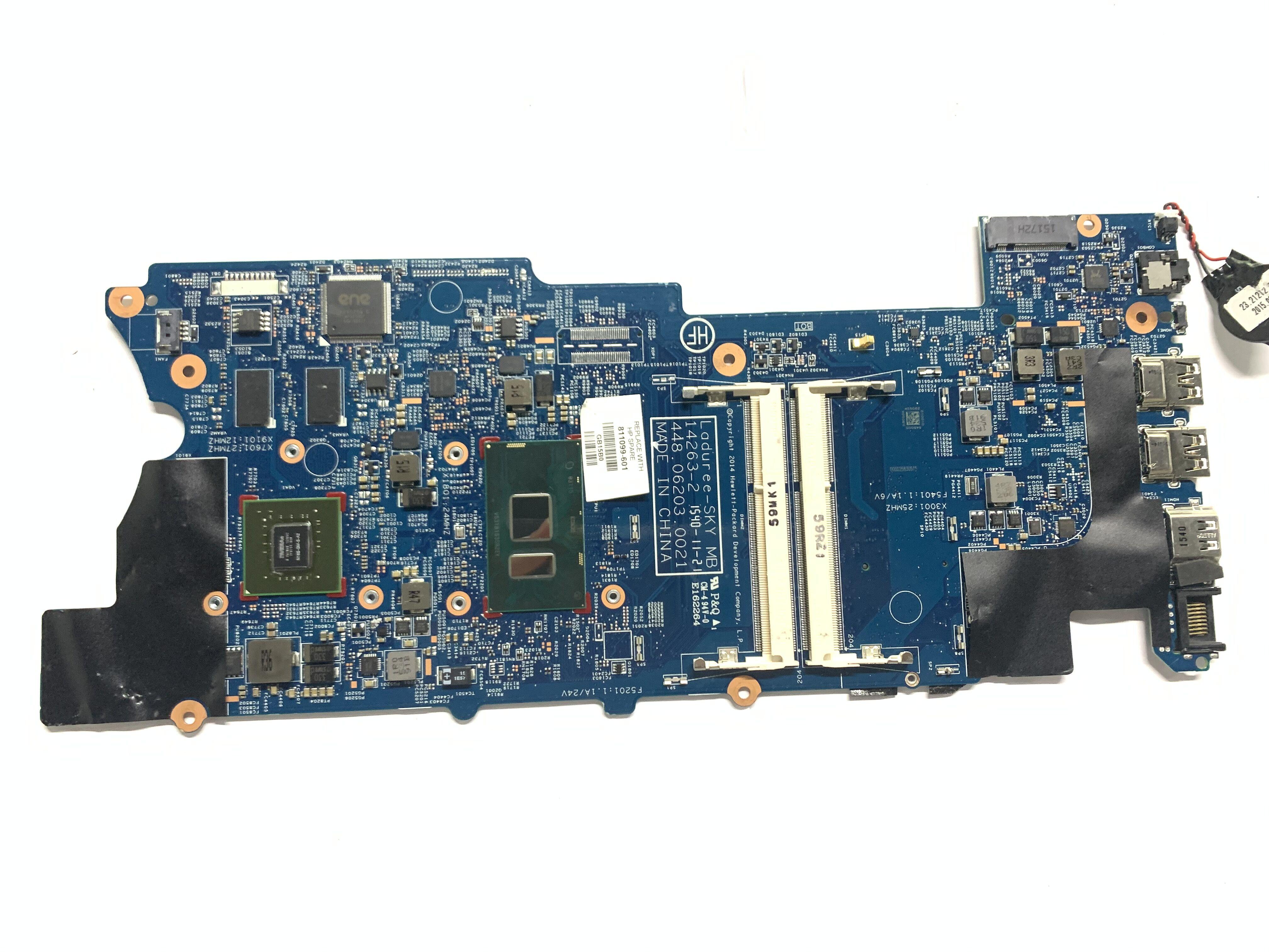 811099-601 811099-501 для HP Envy X360 15-W Материнская плата ноутбука w/ i5-6200U полностью tesetd