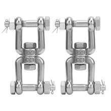 Rotating-Connector Work-Gloves Garden with M10 Shackle Anchor 304-Stainless-Steel