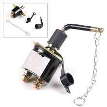 Interrupteur coupe-circuit principal universel, pour voiture, camion, véhicule, SUV, bateau, 12V-24V, 250a, isolateur de batterie