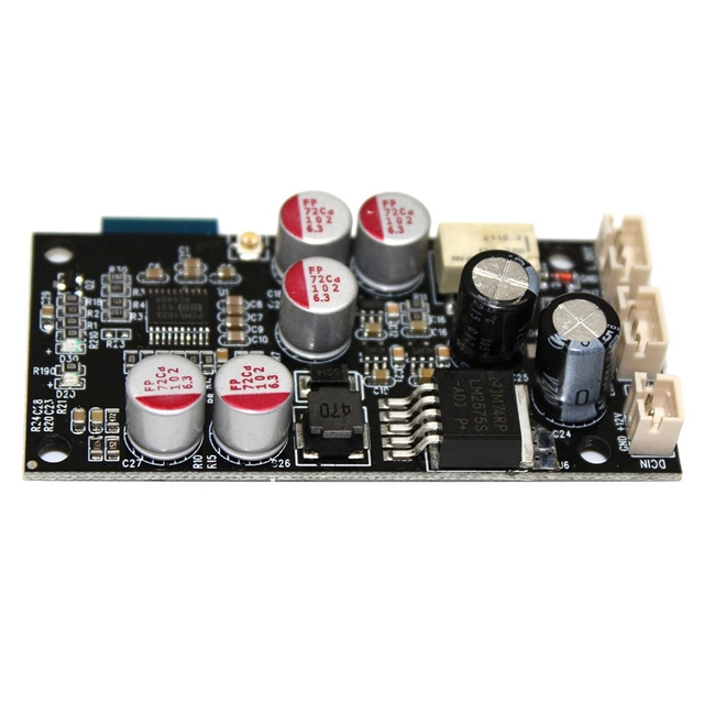 למעלה Bluetooth 5.0 לקבל מפענח לוח DAC עבור מגברי מקלט פענוח אודיו Bluetooth מודול עם כבל DC 6 36V F6 004