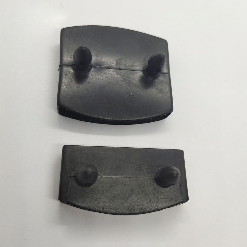 50PCS Black Plastic Square Replacement Sofa Bed Slat Centre End Caps Holders Inner Rubber Sleeve Size 9mmx53mm 9mmx55mm 9mmx62mm