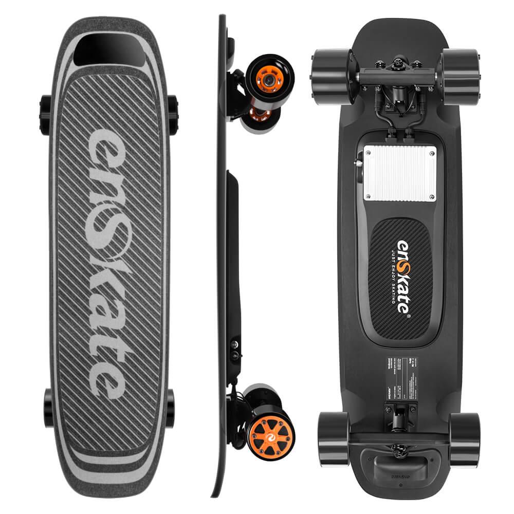 motorized longboard skateboard