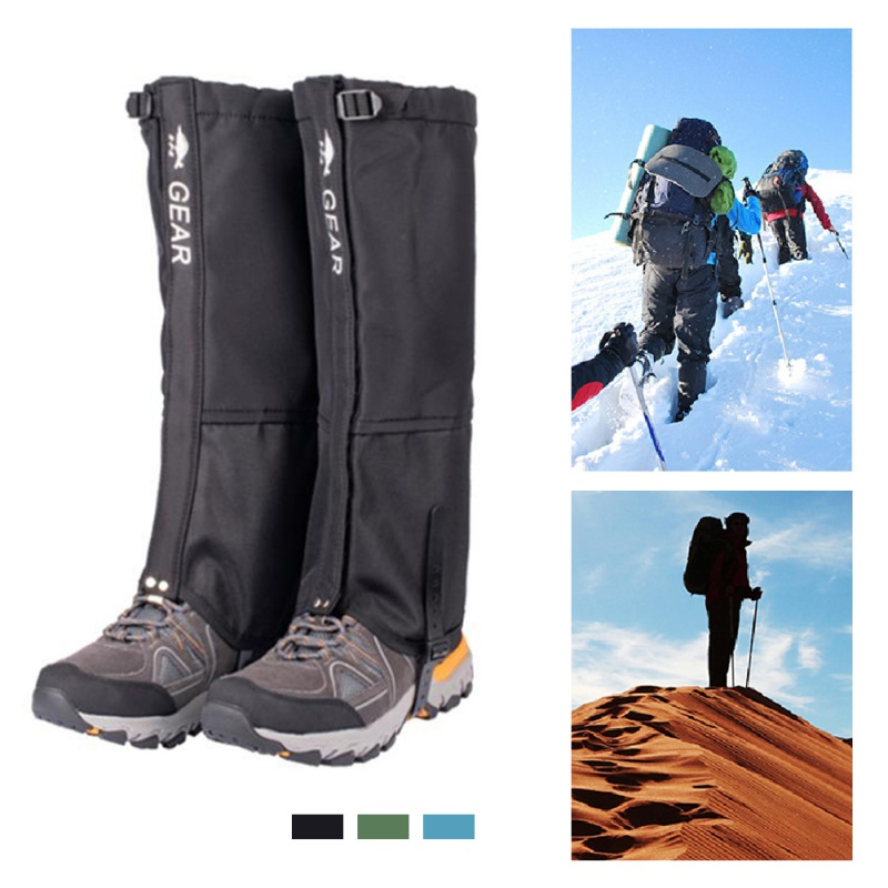 Outdoor Camping Hiking Climbing Waterproof Snow Legging Gaiters Teekking Skiing Desert Snow Boots Shoes Covers Accessories
