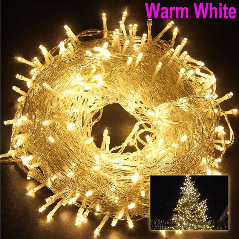 5-100M LED String Light AC220V Fairy Lights Holiday Christmas Wedding Party Tree Decoration Outdoor Waterproof Garland Lightings