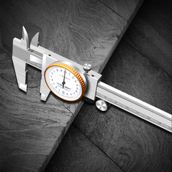0-150mm Dial Vernier Caliper High-Precision Working Calipers Anti-Vibration, Anti-Rust And Wear-Resistant Measuring Tool
