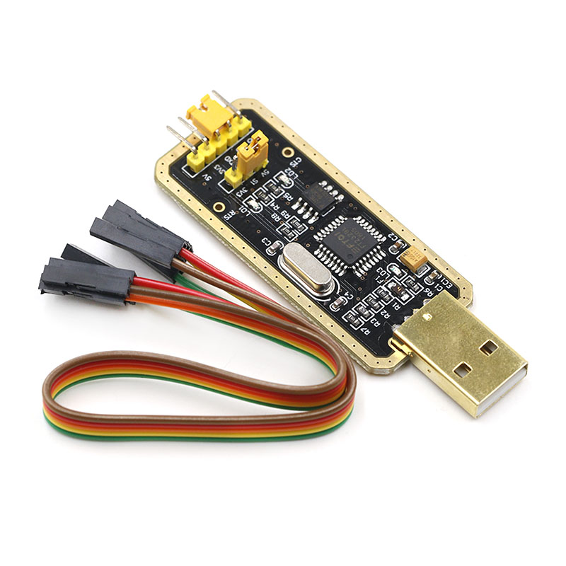 USB to TTL Adapter USB to Serial Converter for Development Projects - Featuring Genuine FTDI USB UART IC FT232RL