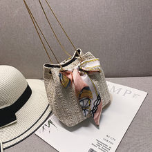 Straw Beach Bag Maison Fabre Shoulder Bag Messenger Crossbody Bags for Women Handbag Bags for Women 2019 Dropshipping Hot Sale 9(China)