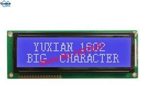 Image 3 - 2 Giá Chiếc Lớn Lớn Kích Thước 1602 Màn Hình LCD Hiển Thị STN Xanh Dương Xanh Trắng Và Đen Chữ SPLC780D1 WH1602L LCM1602B