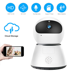 Image 1 - ZILNK 1080P HD Wireless WIFI IP Camera Cloud Intelligent Auto Tracking Of Human Home Security CCTV Baby Monitor Ycc365 Plus
