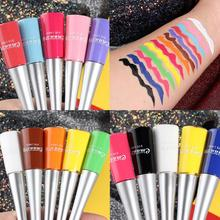 17 Colors 1pcs Liquid Waterproof Eyeliner Pencil Makeup Soft Long Lasting For Women Superfine Professional Eyes Liner Cosmetic