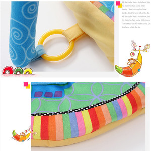 Image 5 - Cartoon animal Baby Activity Mat z stojakiem mobilne łóżeczko wielofunkcyjne dywan sensory edukacyjne dywan zabawki dla dzieci siłownia miękka mata do zabawy