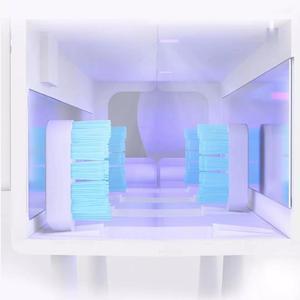 Image 5 - شاومي Dr.Meng حامل فرشاة الأسنان التطهير الذكي UVC الأشعة فوق البنفسجية التعقيم المحيطي ذكي تحريض جسم الإنسان