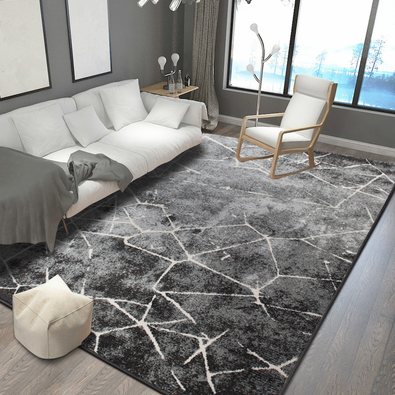 Rectangle Nordic Carpets For Living Room Home Bedroom Carpet Sofa Coffee Table Rug Study Room Floor Mat Restaurant Area Rugs