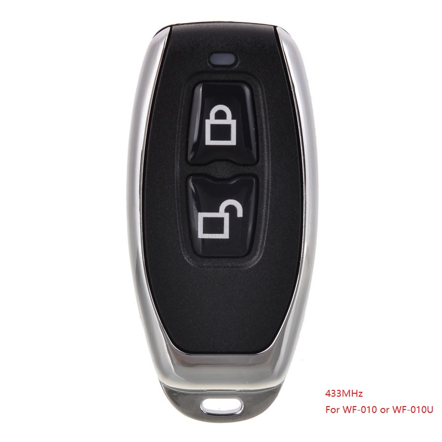 433MHz Remote Controller Door Lock Remote Control Key For WF-010 Or WF-010U Invisible Door Lock
