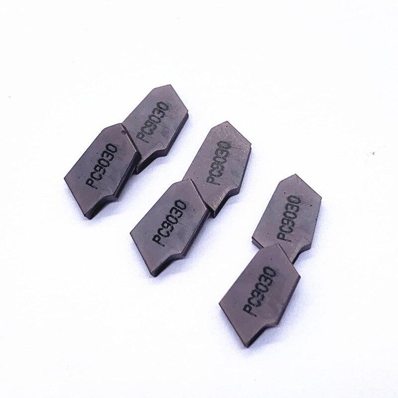 Купить с кэшбэком 10PCS Turning tool SP200 NC3030 NC3020 PC9030 high quality carbide blade metal turning toolCNC parts and slotting tool