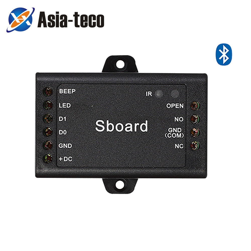 Sboard BT Bluetooth Single Door Access Controller Mini Door Controller Connect With Any Reader Wiegand 26~37 Bits Output