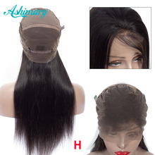 Ashimary Full Lace Human Hair Wigs Straight Hair Remy Brazil