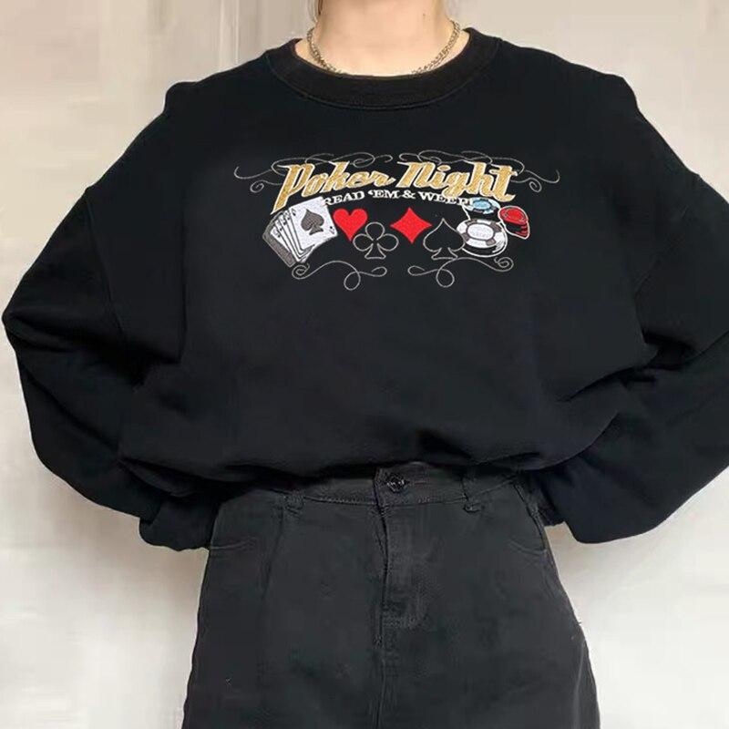 Embroidery Sweatshirt  (19)