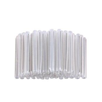 1000pcs/bag Fiber heat shrinkable tube hot-melt pipe fiber sleeve bare 60mm free shipping