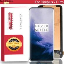 100% Nguyên Bản 6.55 Amoled Màn Hình LCD Khung Cho Oneplus 7T Pro Màn Hình Bộ Số Hóa Màn Hình Cảm Ứng Một Plus 7T Pro Chi Tiết Sửa Chữa