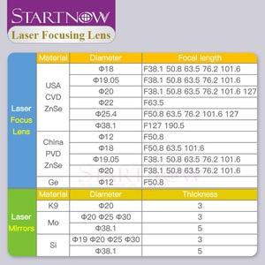 "Image 4 - Startnow CO2 לייזר פוקוס עדשה סין ZnSe PVD 12 18mm 19.05 20 mm F38.1 50.8 63.5 76.2 101.6 1.5 ""  4"" עבור לייזר מכונת חיתוך"