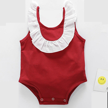 Baby clothes summer jumpsuit 6-12 months baby girl cotton thin section climbing newborn romper