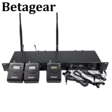 Betagear SR2050IEM Stage ear monitors 3 Receivers BT2050 wireless monitor system stage in ear monitoring system doul channel