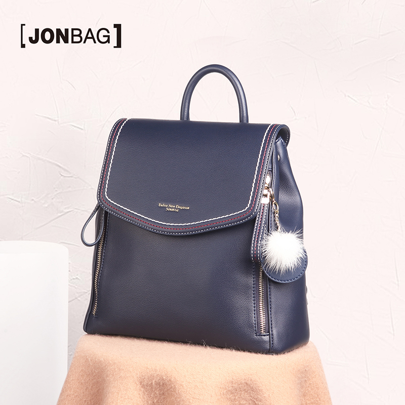 JONBAG School bag backpack female travel bag college students large capacity 2019 new fashion Europe and America ins wind image