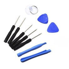 цена на 11 In 1 Cell Phone Opening Pry Mobile Phone Repair Tool Kit Screwdriver Set 3pcs Mini T6 T8 Screwdriver For Precision Instrument