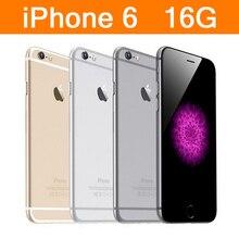 Отремонтированный Apple IPhone 6 rom 16G двухъядерный IOS смартфон 4,7 дюймов ips ram 4G LTE мобильный телефон-ЕС