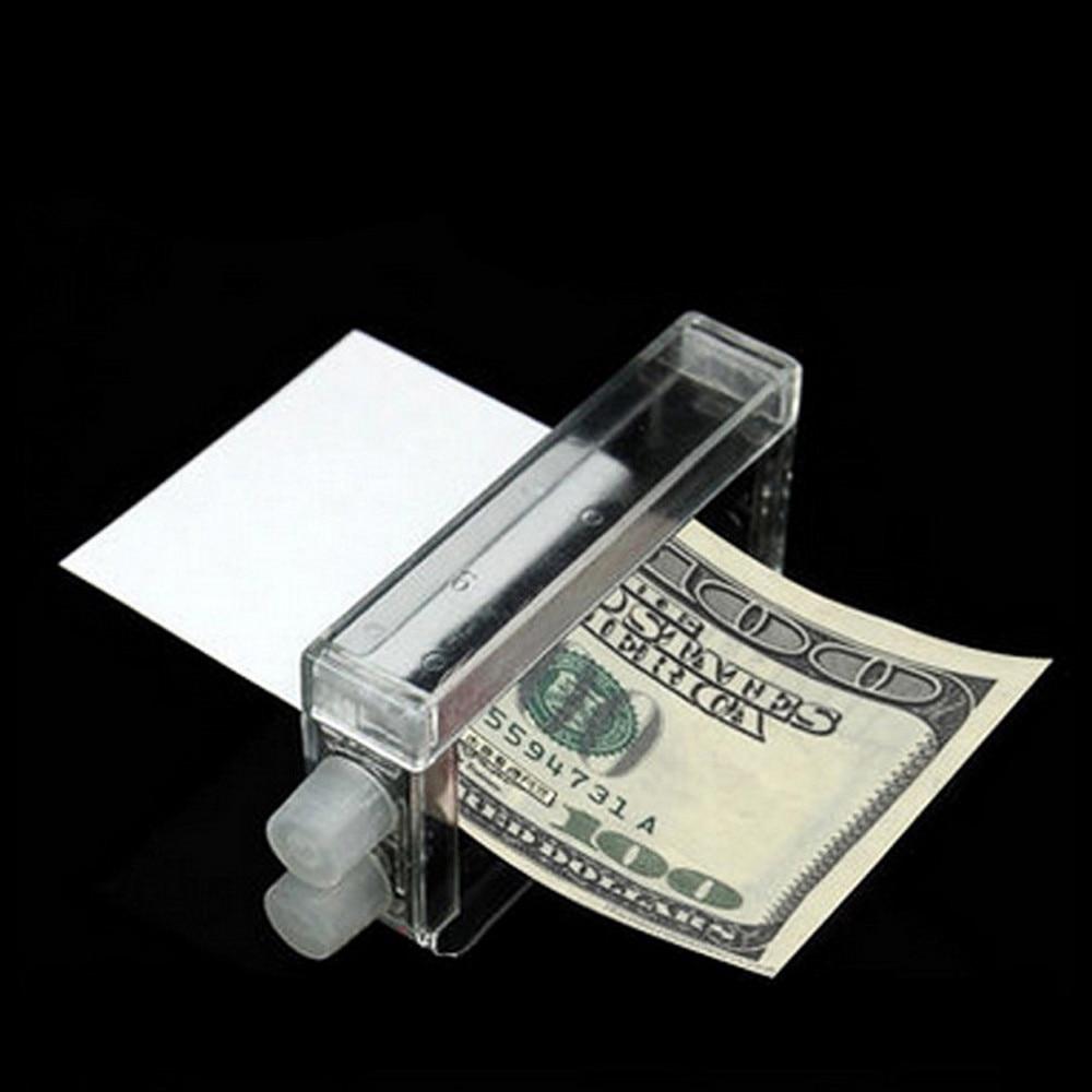 Creativo de impresión de dinero fabricante de máquina de fácil juguetes para trucos de magia dinero accesorios para mago niños adulto 2021 Regalo de Cumpleaños de Juguete Divertido